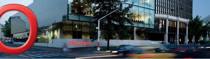 Oberbank AG Website Grafik