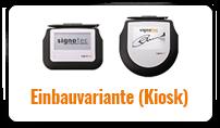 Einbauvariante Kiosk©signotec GmbH