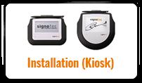 Installation (Kiosk) tile©signotec GmbH
