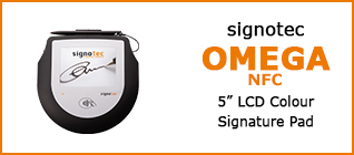 Product Overview signotec Omega NFC 2017 © signotec GmbH