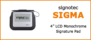 Product Overview signotec Sigma 2017 © signotec GmbH