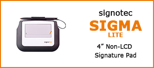 Product Overview signotec Sigma LITE 2017 © signotec GmbH