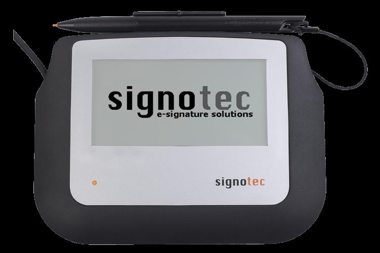signotec Sigma Unterschriftenpad - mit Hintergrundbeleuchtung