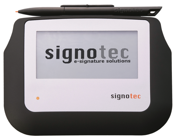 signotec Sigma (without background) © signotec GmbH