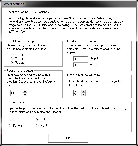 Twain- and Wia-Driver | signotec GmbH