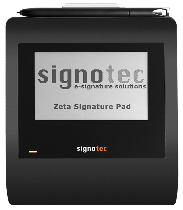 signotec Zeta (without background) © signotec GmbH