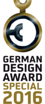 German Design Award Label 2016 © German Design Award 2016