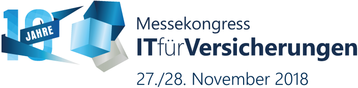 Logo Messekongress IT für Versicherungen 2018