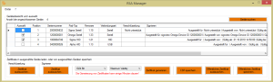 Screenshot RSA Manager © signotec GmbH