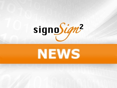 signoSign/2 News © signotec GmbH
