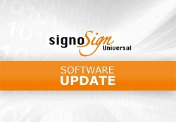 Update signoSign/Universal